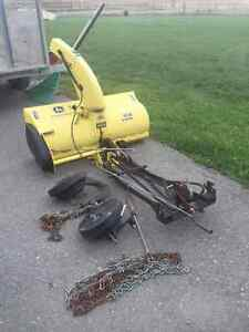 snowblower for JD lawn tractor for sale