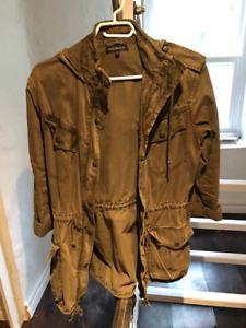 Talula green jacket size small