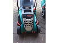 Never Used Bosch Rotak 430 Ergo Power Lawnmower - For Sale