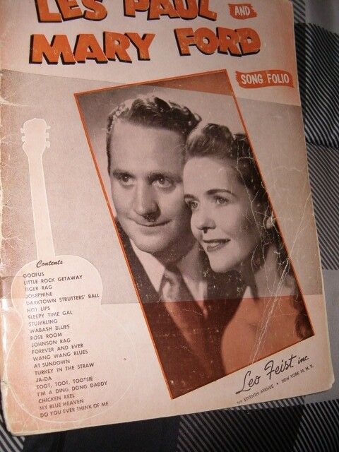 FEIST CAVALCADE Hits Eddy Duchins Pianorama Les Paul Mary Ford SHEET MUSIC Books - $9.95
