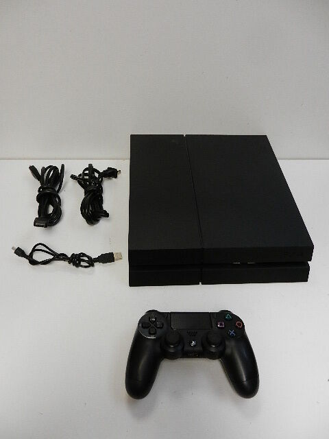 Изображение товара Sony PlayStation 4 CUH-1215A PS4 500 GB Console - Matte Black *No Reserve*