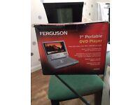 "Ferguson 7"" Portable DVD Player"