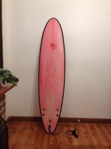 7ft 6, G Board, soft surfboard. Was $550 new. bargain