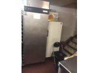Foster Single Door Freezer in good working condition
