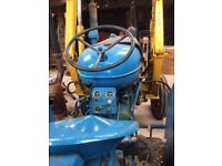 Fordson diesel major tractor with loader