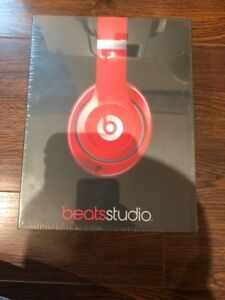 Beats Studio Wired Old Version Red Brand New. Sealed