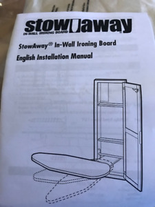 BUILT IN IRONING CABINET