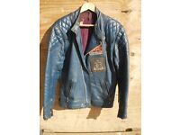 1970's Highwayman leather motorcycle jacket
