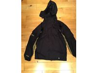 BOYS BLACK SKI JACKET