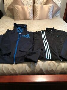 ADIDAS ZIP UP JACKETS  NEW  CONDITION SIZE LARGE