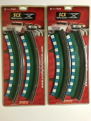 SCX DIGITAL SYSTEM 2 x Standard Curve Border with Barrier green 2 Ref 20040