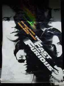 The Fast And The Furious Theatre Poster