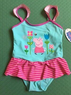 New Peppa Pig Swimsuit Swimming Costume Peppa Spring 4T 6T](Peppa Pig Costumes)