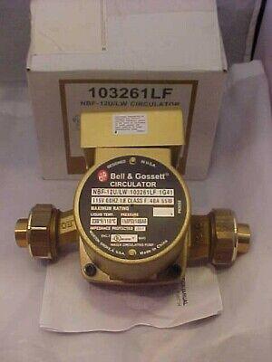 Bell Gossett Circulator Pump Nbf-12ulw 103261lf New