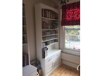 Two bespoke tall shelving/storage units originally make for two alcoves in Victorian House