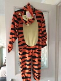 Tiger suit from M&S size age 4-6