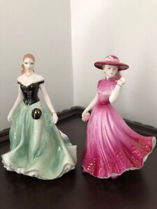 ROYAL WORCESTER  FINE CHINA FIGURINES