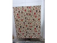 Ex-Show Home Hand Made Roman Blind 116 x 155cm