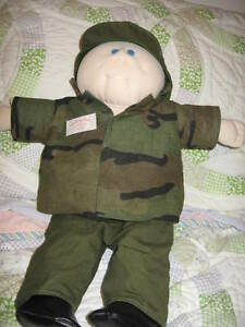 Cabbage Patch Military Doll
