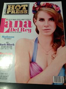 HOT PRESS MAGAZINE 7 APRIL 2012 LANA DEL REY PHOTO COVER INTERVIEW