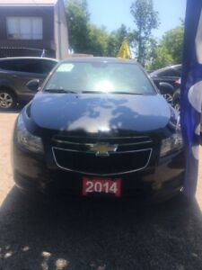 2014 Chevrolet Cruze,4 CYL,Financing available ,clean car-proof,