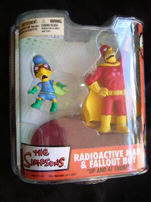 Simpsons-radioactive Man (McFarlane - The Simpsons - Radioactive Man & Fallout Boy.)