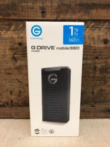 New 1 TB G-Technology G-Drive mobile/eexternal SSD R-Series