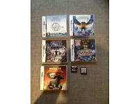 Nintendo DS Games Legend of the Guardins Brain Training Star Wars Assassins Creed