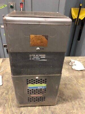 Sola 23-26-230 Constant Voltage Transformer 3000va 120240 Output