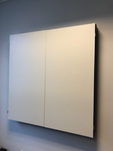 Wall mount whiteboard/flipchart/bulletin board