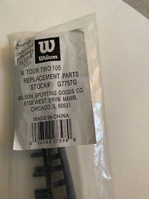 Wilson Headset (Wilson G7757G N Tour Two 105 Original Grommet Set Head Guard Bumper)
