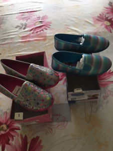 Girls Shoes size 13 and size 1 - NEW