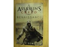 4 x Assassins Creed paperback books based on video games