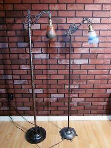 2 Très Belles Lampes à Cou Antique aux Choix