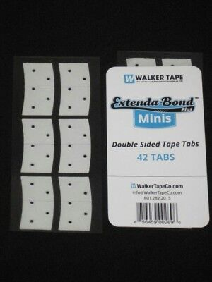 Extenda Bond Plus Mini Tape Tabs Adhesive Extensions Wig Toupee Hair Replacement