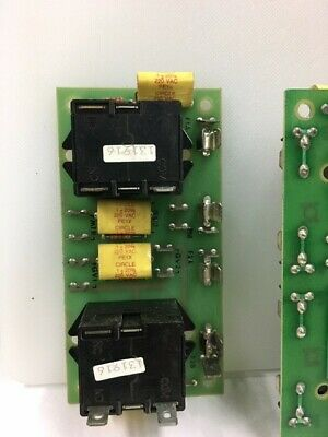 Adc 137077 Relay Board Motor Control American Dryer Corporation
