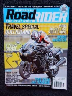 Aust Road Rider, May '12; Honda, BMW, Aprilia, Versys, Victory