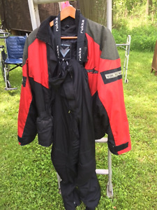 Gortex and Kevlar motorcycle suit