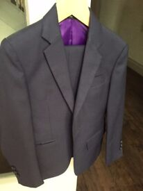 Hand made Boys Dark Navy Suit Age 7-8