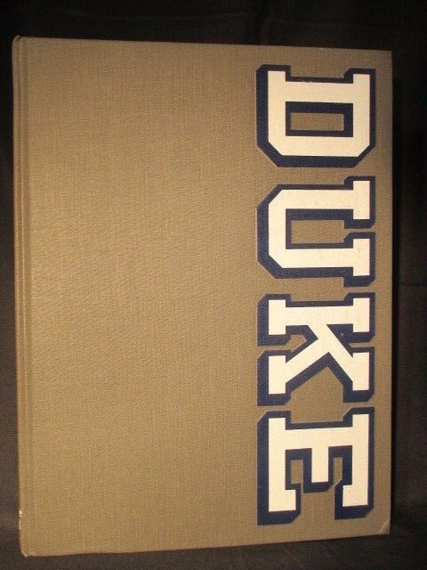 The Chanticleer 1988 Duke University Yearbook Annual Durham North Carolina