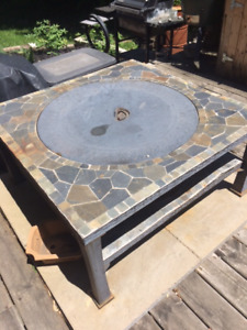 Mosaic Fireplace Table