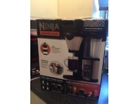 Ninja coffee machine with box - rarely used excellent condition