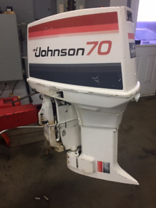 1979 70 HP JOHNSON HORSBORS