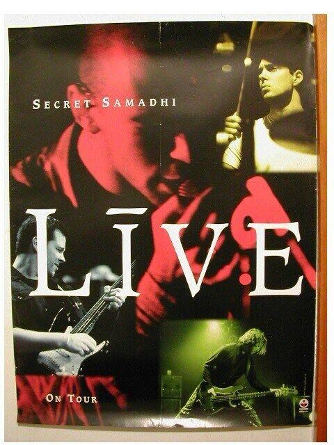 Live Poster Secret Samadhi Band Shot promo