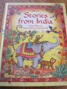 STORIES FROM INDIA Usborne Hard Cover book 96 page 2005