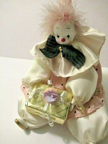 Collectibles 1988 ORGEL Japanese Musical CLOWN w/ motion-Someday My Prince....