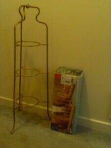 Plate Bowl Store Organizer Display Stands and Wood Racks $5 Up