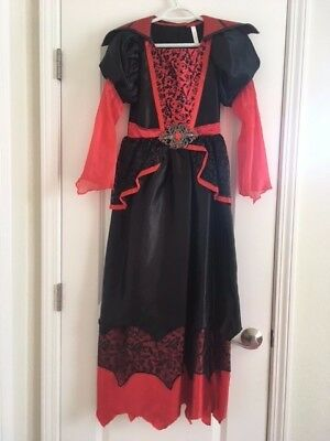 Vampires Queen Halloween Costume. 11-14 yr. & 25% OFF if you buy 5 items I sell! - Buy Used Costumes