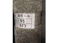 Soft touch carpet remnant - 2.15x4 - £55 - Ref 217