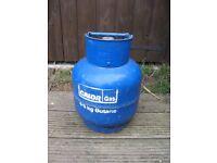 4.5kg Calor gas bottle currently 8.2kg